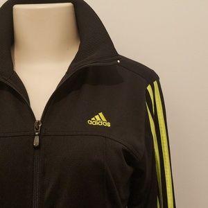 Adidas zip athletic jacket